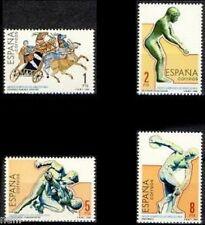 Spain  Edifil # 2768/2771 ** MNH Juegos Olimpicos Los Angeles 1984