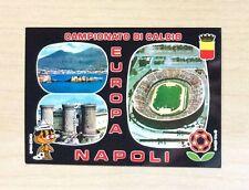 CARTOLINA - CAMPIONATO DI CALCIO EUROPA '80 - NAPOLI 1980 - NUOVA N°8210-F  NEW