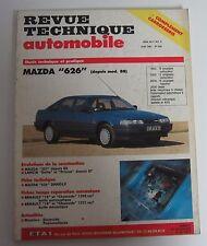 Revue technique automobile RTA 528 Mazda 626 depuis modèle 88