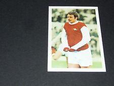 9 JOHN RADFORD ARSENAL GUNNERS FKS PANINI FOOTBALL ENGLAND 1970-1971