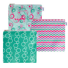 Reusable Cloth Sandwich Bags - Set of 3 - Sweet Collection