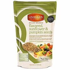 Linwoods macinato biologico semi di lino, semi di girasole e zucca 425g