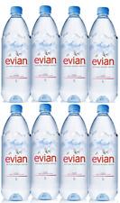 Evian Natural Mineral Still Water PET Plastic Bottles (24 x 1 Litre)
