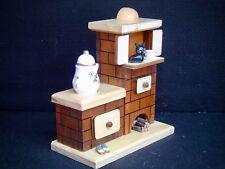 madera horno Casa ahumeante Marrón/Natural Fumador Estufa de azulejos Gato 40605