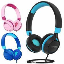 Mpow Kinder Kabel Kopfhörer Faltbare On-Ear Headset Musik Stereo Sound Headphone