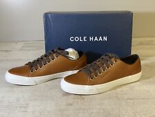 Cole Haan Mens British Tan Leather Pinch Weekender LX Lace Oxford Size 7.5 M New