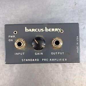Barcus Berry Vintage Amplifier 1330S Guitar Music Usa