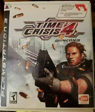Time Crisis 4 (Sony PlayStation 3, 2007) + Guncon 3 - BRAND NEW / FACTORY SEALED
