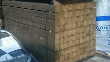 """NEW STOCK 4"""" x 4"""" Green Tanalised Treated Timber Fence Posts  6'ft   - 1.8meter"""