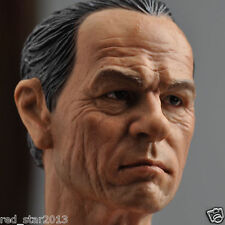 "1/6 Tommy Lee Jones Man Head Sculpt C-0020 Us Actor For 12"" Male Ht Body"