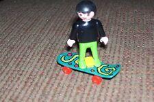 Playmobil Child on Skateboard
