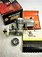 "ENYA 35-III R/C STUNT ENGINE ""REDUCED' MODEL 5224 SCARCE  ORIG MUFFLER, IN JAPAN"