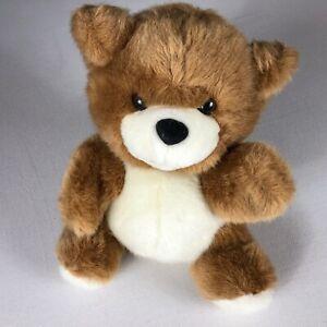 "Ganz Bear Hand Puppet Kelsey VTG 1997 Stuffed Animal 10"" Teddy Soft Cuddly 90s"