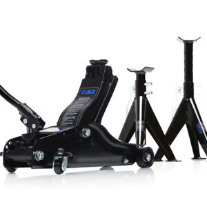 SGS 2 Ton Low Entry Trolley Jack & 3 Ton Axle Stands