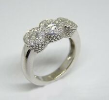 14 KT WHITE GOLD RING WITH 0.75 CT DIAMOND