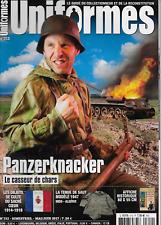 UNIFORMES N° 312 / PANZERKNACKER LE CASSEUR DE CHARS - TENUE DE SAUT MOD. 1947