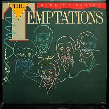 THE TEMPTATIONS back to basics LP VG+ 6085GL Vinyl 1983 Record