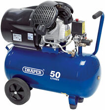 Draper 29355 50l 230v 2.2kw (3 Ps) LUFT Kompressor