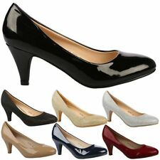 Slim Casual Synthetic Heels for Women