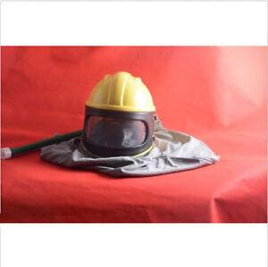 Sandblasting Helmet for Sandblast Protecting Grey Cloak style
