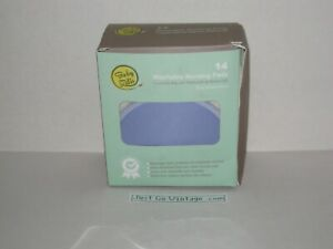 Baby Zelis 14 Pack Washable Organic Bamboo Nursing Pads Ultra Soft, NEW Open Box