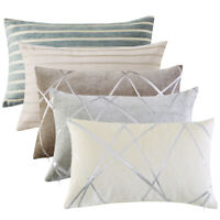 1/2Pcs Thick Chenille Jacquard Throw Pillow Case Sofa Couch Decor Cushion Cover