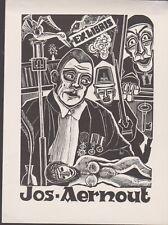 ex-libris Jos Aernout