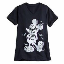 DISNEY Store TEE for Women HALLOWEEN Mickey TRICK or TREAT TShirt PICK Size NWT