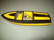 Vintage Glow Plug Engine Model Inboard Toy Boat