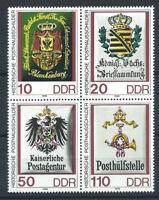 Allemagne DDR N°2910/13** (MNH) 1990 - Emblèmes postaux historique