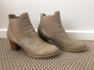 Corelli Ankle Boots Size 39 Nude Beige
