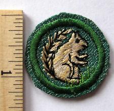 Vintage 1948-1955 Girl Scout Mammal Badge Land Animal Finder Squirrel Patch