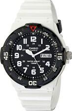 Casio Men's MRW200HC Classic Stainless Steel White Watch
