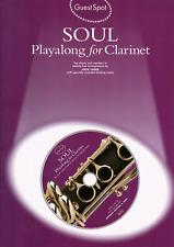 SOUL MUSIC FOR  CLARINET Sheet Music Book & Playalong CD Shop Soiled