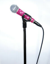 MicFX HOT PINK SENSATION MICROPHONE SLEEVE / FITS CORDED MICROPHONES