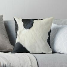 Cowhide Black and White Pillow Case, Cowhide Pillow Cover