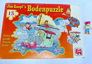 JIM KNOPF - BODEN Puzzle - extra große Puzzleteile - 15 Teile Emma Eisenbahn Zug