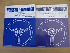 Ergänzungs Werkstatthandbuch Honda CIVIC Shuttle 4WD 1986 + 1987