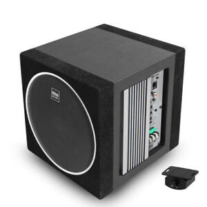 """Boss Elite BE10AE 10"""" 600W Subwoofer Enclosure with Built-In Amplifier"""