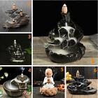 11 Types Ceramic Backflow Incense Burner Porcelain Buddhist Censer Holder &Cones
