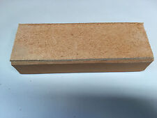 "Big Bench Top Strop 4 sided leather strop no handle 1.5"" x 3"" x 8"""