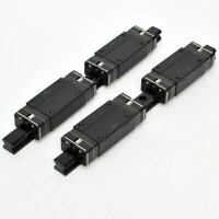 (4) THK HSR20x LM Bearing Guide Blocks with (2) 31cm Linear Guide Rails