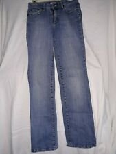 Tint Womens Size 6 Distressed Jeans Stretch Medium Wash Mid Rise Faded Bootcut