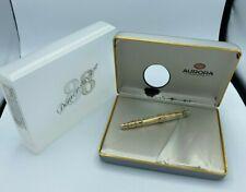 AURORA 88 Limited Edition DEMONSTRATOR Rollerball  Pen No. 764 Gold Trim  NEW