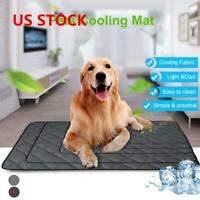 Pet Cooling Mat Non-Toxic Cool Gel Pad Cooling Pet Bed for Summer Dog Cats Puppy