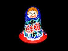 Beautiful Shaking & Ringing Matryoshka Doll , Soviet Union, Ussr!
