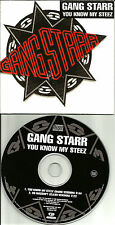 GANG STARR You Know My Steez RADIO & So Wassup CLEAN PROMO CD single USA Seller