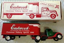 EASTWOOD 1937 CHRISTMAS DELIVERY TRUCK  SPECIAL 1990 LIMITED ED.