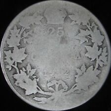 1912 AG Canada Silver 25 Cents - KM# 24 - Free Shipping - JG