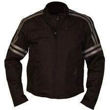 NexGen Women's Textile/Leather Blk/Silver Riding Jacket size Medium